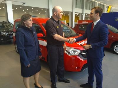 30. 04. 208 Předání OA Dacia Dokker